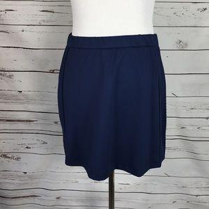 Bolle Sports Skirt. Navy Blue Size Medium.